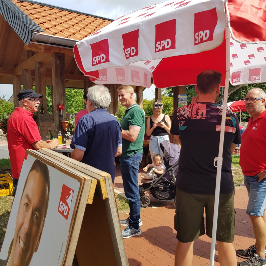 Wahlstand_2021 Lamspringe
