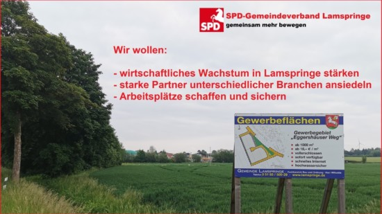 Foto Gewerbegebiet Eggershäuser Weg Lamspringe