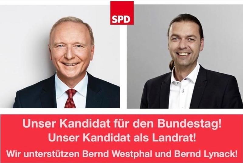 Unterstützung 2021 für Landrat und Bundestag